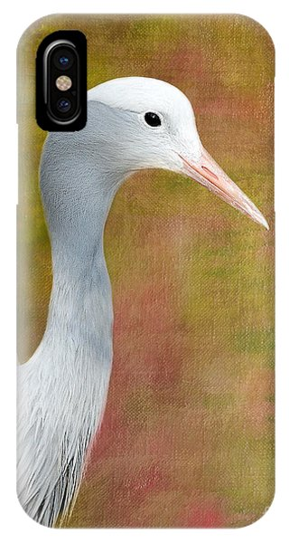 Blue Crane IPhone Case