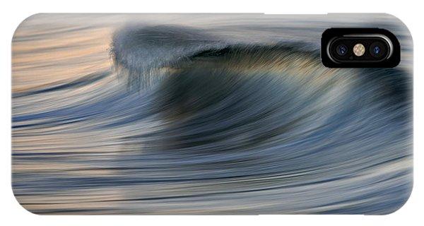 Blue Curl 73a7892 IPhone Case