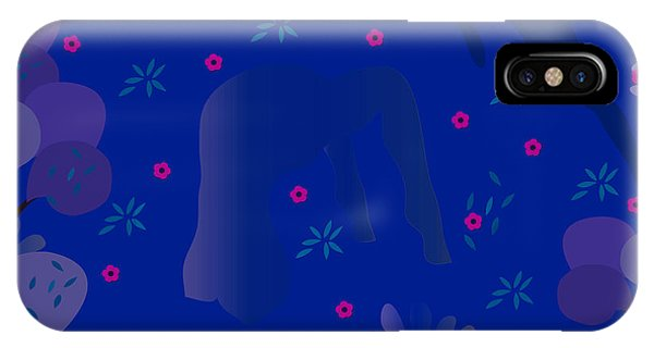 Blue Dance - Limited Edition  Of 30 IPhone Case