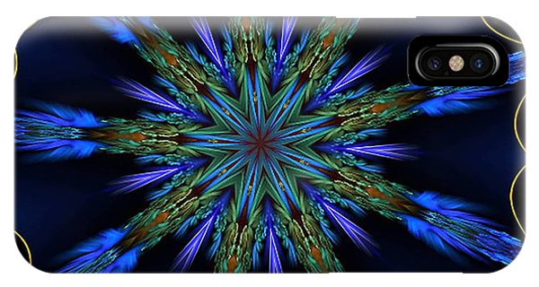 Blue Danube Kaleidoscope IPhone Case