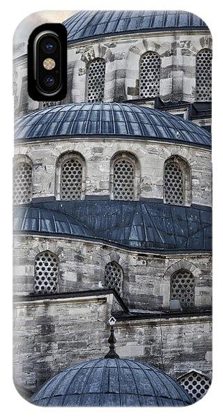 Blue Dawn Blue Mosque IPhone Case