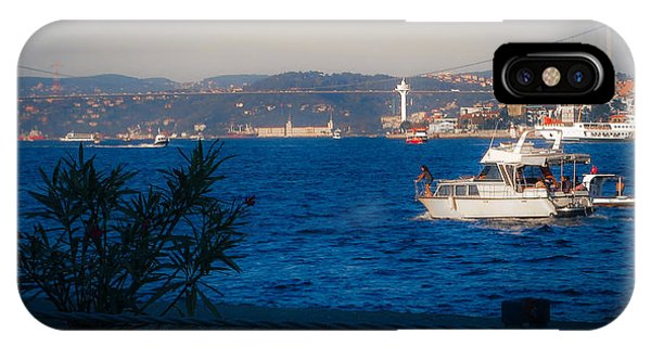 Blue Dawn On The Bosphorus IPhone Case
