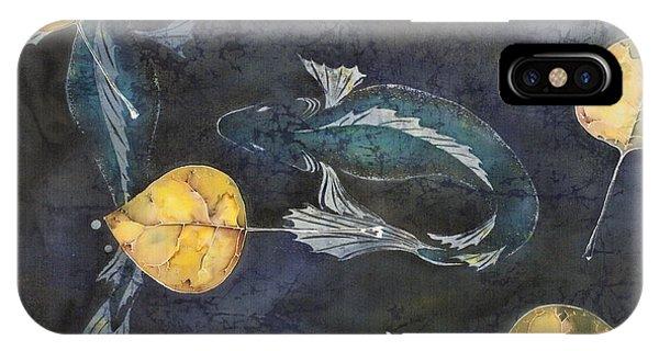 Blue Depths IPhone Case