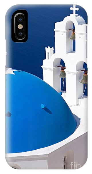 Blue Dome Church IPhone Case