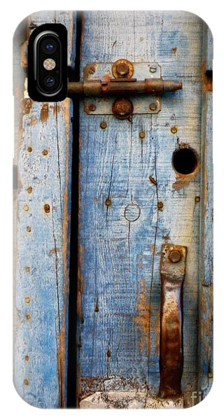 Blue Door Weathered To Perfection IPhone Case