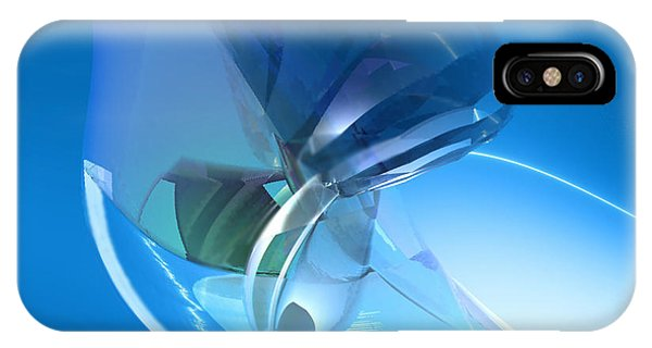 Blue Dreams Of Time Travel Phone Case by Stephen Donoho