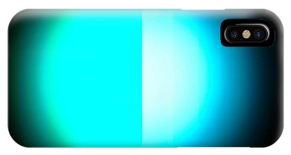 Blue Eclipse IPhone Case