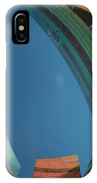 Colourful iPhone Case - Blue Emptiness by Jef Van Den