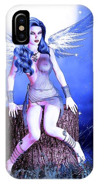 Blue Fairy IPhone Case