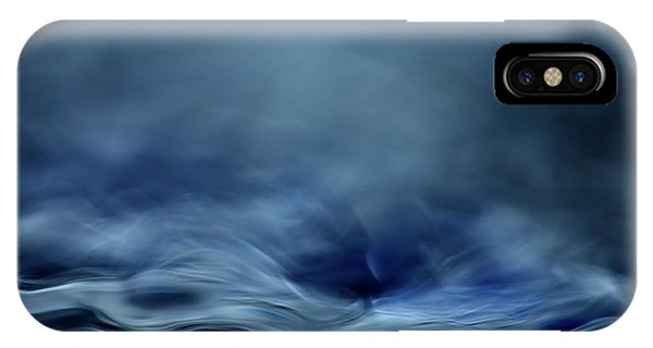 Flow iPhone Case - Blue Fantasy by Willy Marthinussen
