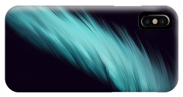 Blue Feather IPhone Case