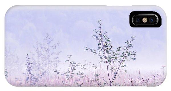 Blue Fog IPhone Case