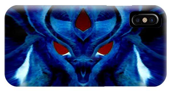 Blue Fox IPhone Case