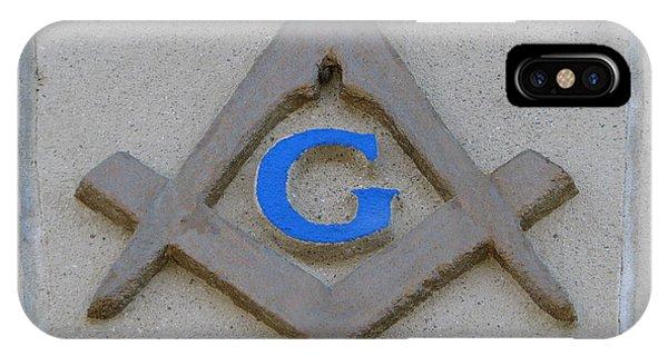 Blue G IPhone Case
