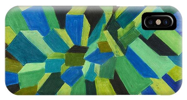 Blue Green Pastel IPhone Case