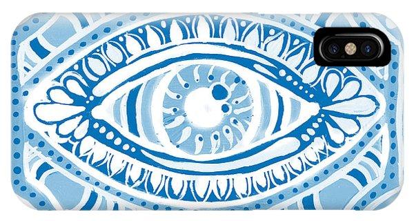 Blue Gypsis Eye IPhone Case