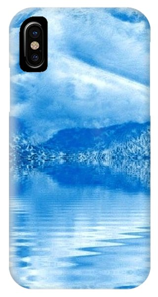Blue Healing IPhone Case