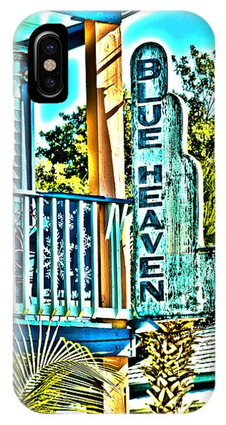 Blue Heaven In Key West - 1 IPhone Case