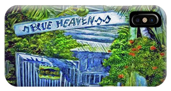 Blue Heaven Key West IPhone Case