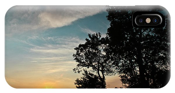 Blue Heaven Sunset IPhone Case