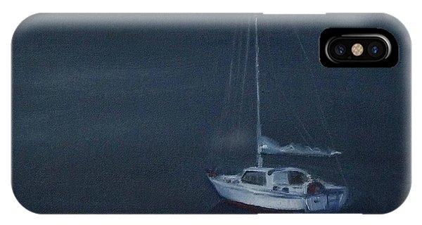Blue Horizon IPhone Case