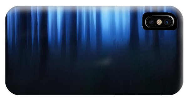 Panorama iPhone Case - Blue Hour by Burger Jochen
