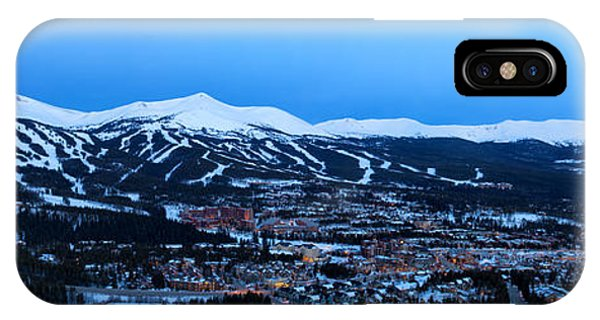 Blue Hour In Breckenridge IPhone Case