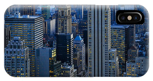 Blue Hour In New York City Usa IPhone Case