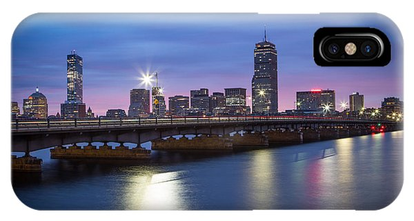Blue Hour On The Charles River IPhone Case