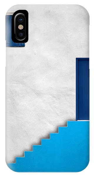 Blue House Phone Case by Alfonso Novillo