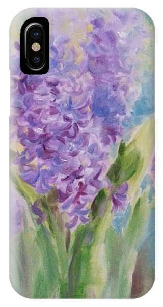 Blue Hyacinth IPhone Case