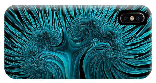 Blue Hydra IPhone Case