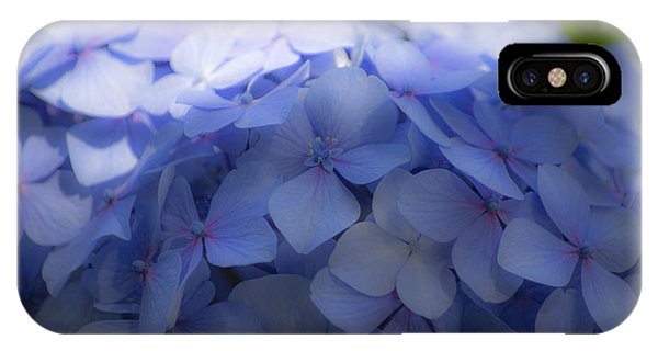 Blue Hydrangea One IPhone Case
