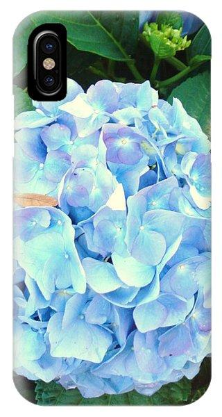 Blue Hydrangea Phone Case by Van Ness