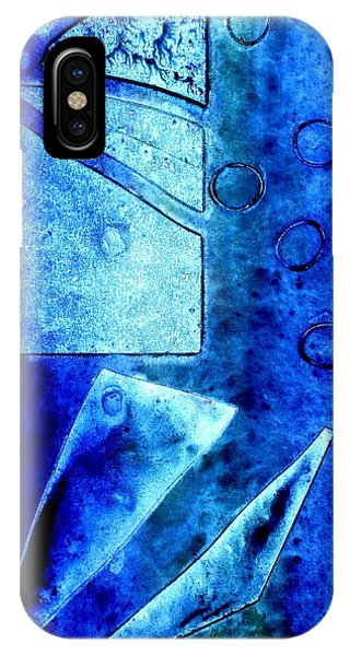 Blue   II IPhone Case