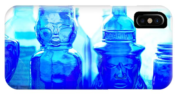 Cobalt Blue iPhone Case - Blue In The Face by Jon Woodhams