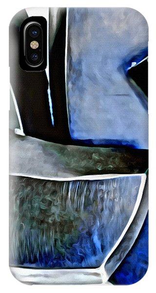 Blue Iron IPhone Case