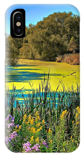 Blue Lagoon 2 IPhone Case