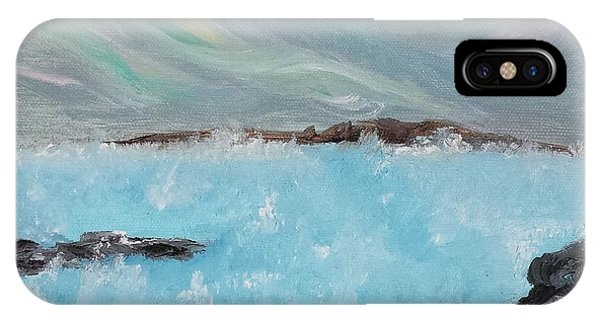 Blue Lagoon Iceland IPhone Case