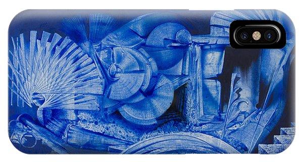 Blue Landscape Phone Case by Fernando Alvarez