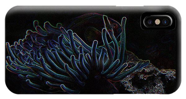 Blue Magic Light Fish  IPhone Case