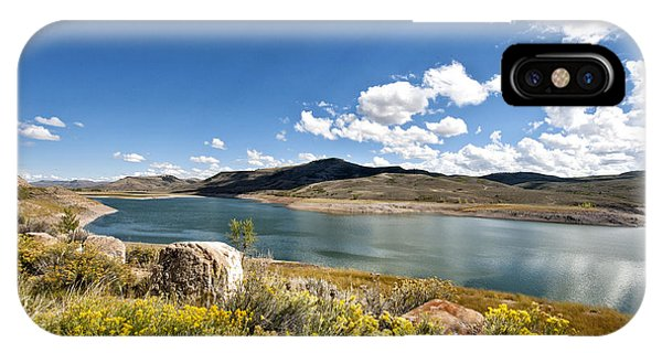 Blue Mesa Reservoir IPhone Case