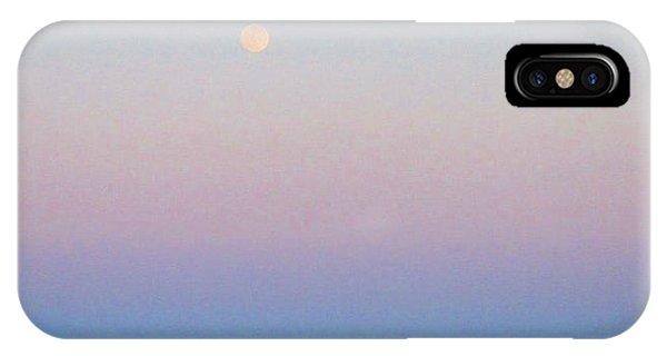 Blue Moon Eve IPhone Case