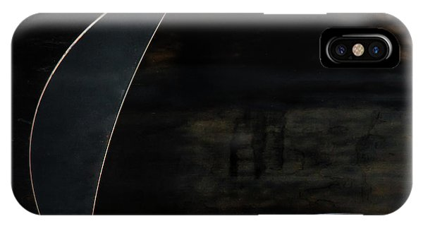 Abstract iPhone Case - Blue Moon by Gilbert Claes