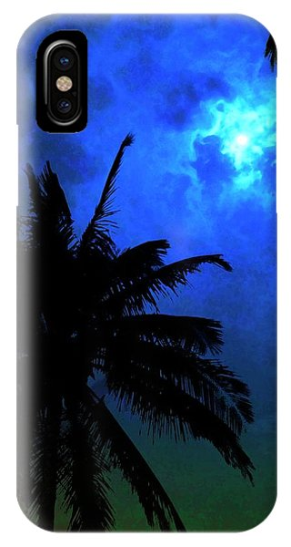 Blue Moon Phone Case by Mark Garlick/science Photo Library