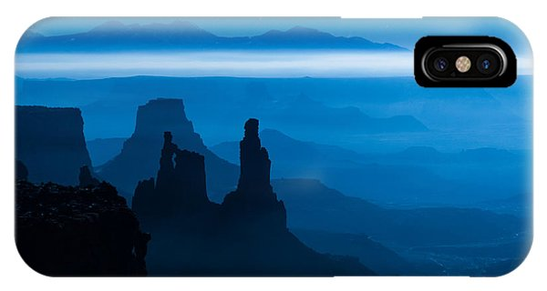Blue Moon Mesa IPhone Case