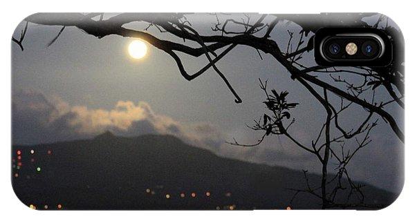 Blue Moon Over El Yunque IPhone Case