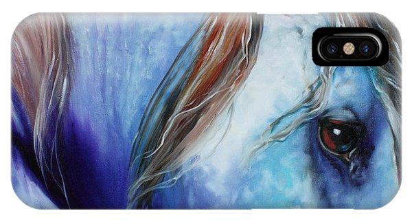 Blue Moonstruck Arabian IPhone Case