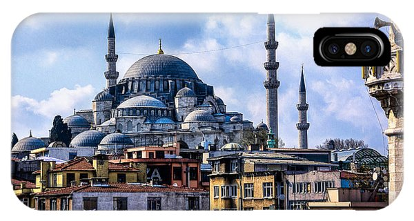Blue Mosque In Istanbul IPhone Case