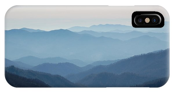 Blue Mountain Cascades Phone Case by Mary Anne Baker